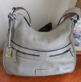 Marta Ponti Large Leather Shoulder/Hand bag