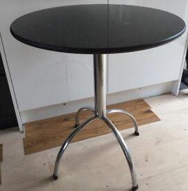 Bistro Style Granite Table