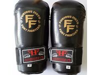 Furiousfistsuk Karate Striker Gloves Black 2 tone color