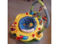 Bright stars baby activity saucer/entertainer