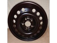 Vauxhall Combo/Corsa C/Astra G/Vectra B/ 5 x Steel Wheels