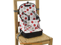 Baby Polar Gear Take Anywhere Foldable Booster Seat with 5 Point Harness CAN POST 2U