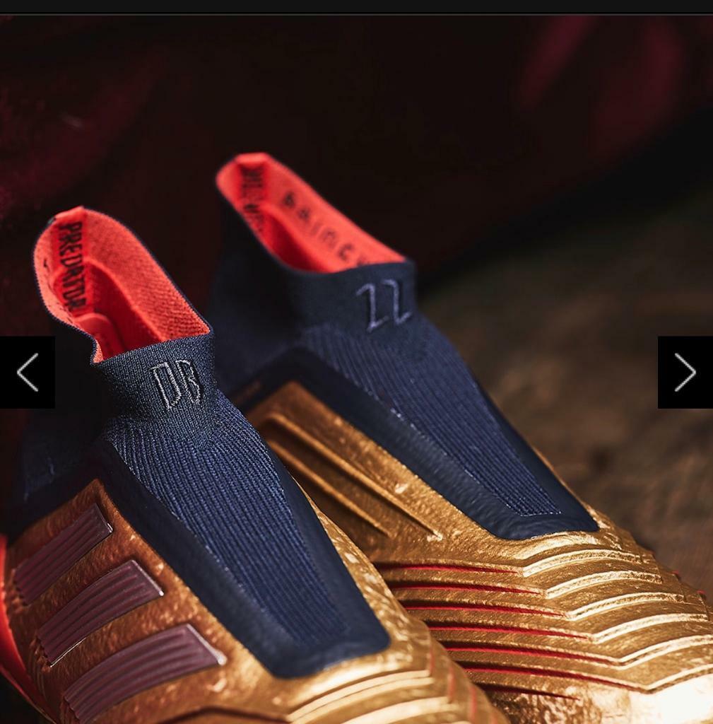 Adidas Predator 19+ Fg Zidane Beckham Gold | in Chafford Hundred, Essex |  Gumtree