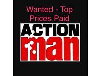 Wanted - 1960's, 1970's,1980's Action Man - Top Prices Paid