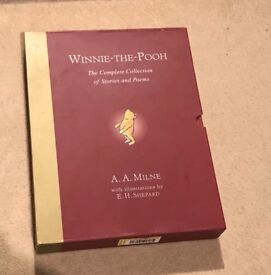 Winnie the Pooh complete collection hardback book