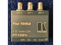 Kramer PT102V 1:2 Composite Video Distribution Amplifier