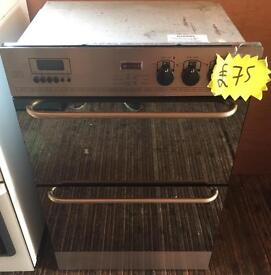 Refurbished stoves 900ef integrated electric cooker-3 months guarantee!