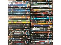 DVD collection of 50 various action films