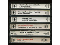 BRUCE SPRINGSTEEN CASSETTES £10 EACH [ONO] FREE POSTAGE WITHIN UK