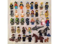 Lego mini figures Indiana jones Simpsons horses police fire Star Wars turtles ⭐ toy lot