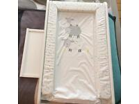 John Lewis top cot changing table