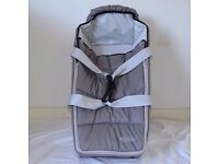 Graco Baby Sleeping Basket / Travel Cot / Bed , very good condition thanks