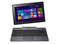"""ASUS Transformer Book T100TAF 10.1"""" Laptop Tablet PC Intel Z3735F 500GB+32GB SSD"""