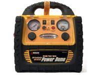 4 in 1 12V Portable Power Station, Emergency Jumpstart & Air Compressor