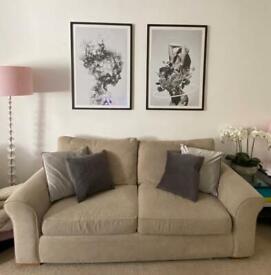 Next Garda sofa (three seater sofa couch)
