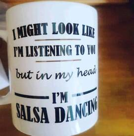 Salsa partner required