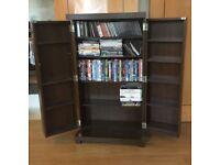 Next Brown CD/DVD, books storage shelf