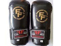 Furiousfistsuk Karate Striker Gloves Black 2 tone color
