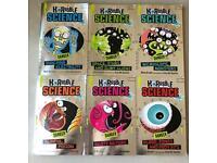 12 books bundle - 6 horrible science - 5 Horrible Histories and 1 Horrid Henry