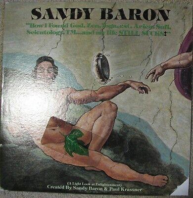 Sandy Baron - How I Found God Zen Yoga... - Great E+ LP