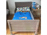 Extendable Toddler Bed with Pocket Spring Mattress
