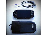 Sony PS Vita Crystal Black Wi-Fi + 8GB Memory+ FIFA14