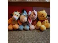 Winnie the pooh teddy collecrion