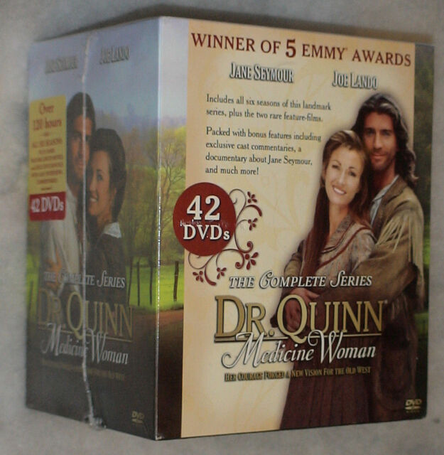 Dr. Quinn, Medicine Woman: The Complete Series - 42 DVD Box Set - NEW & SEALED