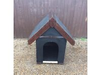 "Lovely dogs kennel 2ft 9"" long. 2ft wide by 3ft 3""high £35"