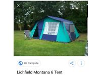 Lichfield Montana 6 Canvas Tent