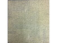 Assorted carpet tiles - various colours