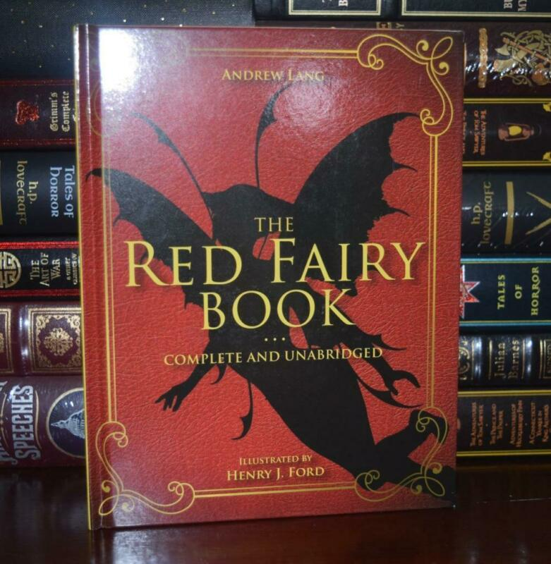 Red Fairy Book Andrew Lang Complete Illustrated Unabridged New Deluxe Hardcover