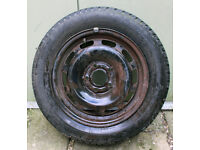Part Worn Type 195/60 R15 on a Wheel with 6mm Thread