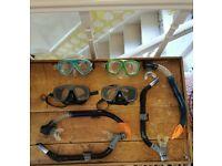 Bundle of Snorkel gear