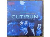 Cut and Run BRAND NEW board game