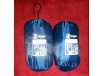 2 x Hi Gear Camper Sleeping Bag