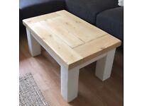 Coffee table - bespoke design made with reclaimed wood