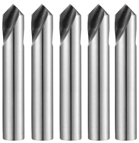 "5pcs 5/8"" 90° Degree HSSCo8 M42 Cobalt NC/CNC Spot Drill 0401L YG-1"