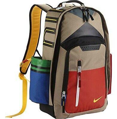 NWT Nike All Star Kyrie Backpack Khaki Orange Varsity Maize BA5286-235