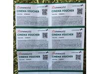 Cineworld tickets
