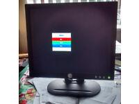 """Dell E173FPf 17"""" LCD Monitor."""