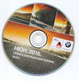 BMW, AUDI, VW, MERCEDES, UK, EUROPE 2017 MAPS UPDATE DVD