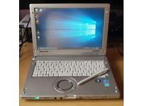 Panasonic Toughbook CF-C1 Mk2 Laptop / tablet / Convertible 12.1 inch, I5, Windows 10