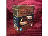 Lord of the Rings - Extended Edition Blu Ray Box Set (15 Discs)