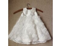 Monsoon Flower Girl Dress Age 6-12 months