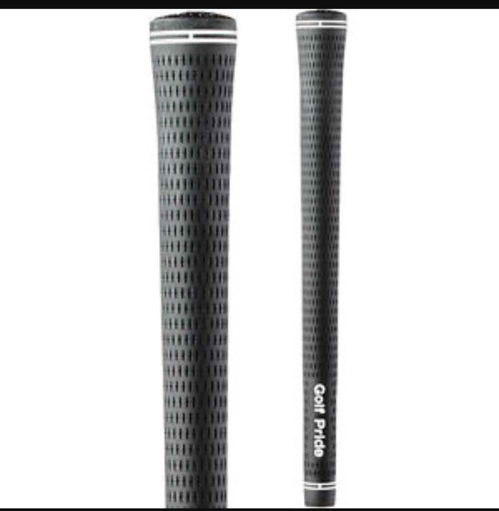 Golf pride standard size grips fitted 9 clubs £60