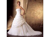 NEW Ivory Justin Alexander wedding dress
