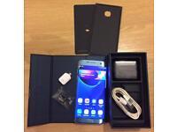Samsung Galaxy S7 Edge, Blue Coral, 32GB, Unlocked