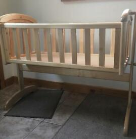 Wooden Cot (Swinging)