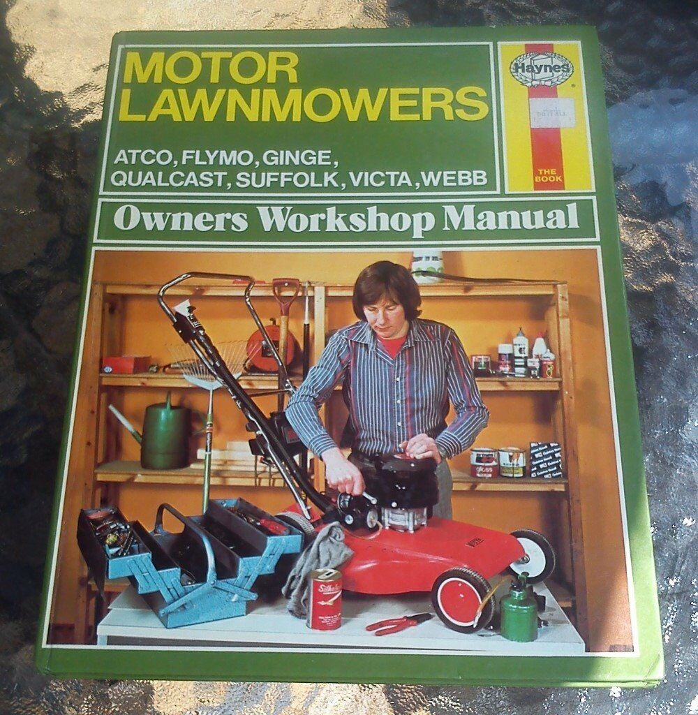 vintage haynes motor lawnmower workshop manual in biggleswade rh gumtree com Home Depot Lawn Mower Manual Murray Lawn Mowers Manuals